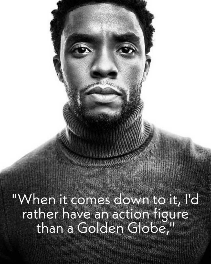 Chadwick Boseman inspirational quotes