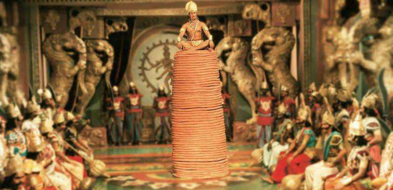 hanuman ji sitting on his tail scene ramayana meme template