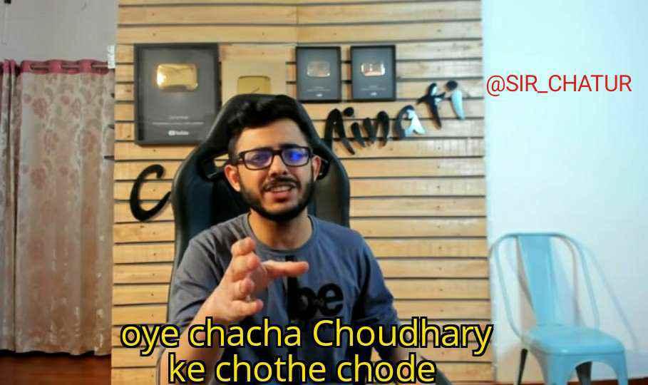 oye chacha chaudhary carry minati meme template