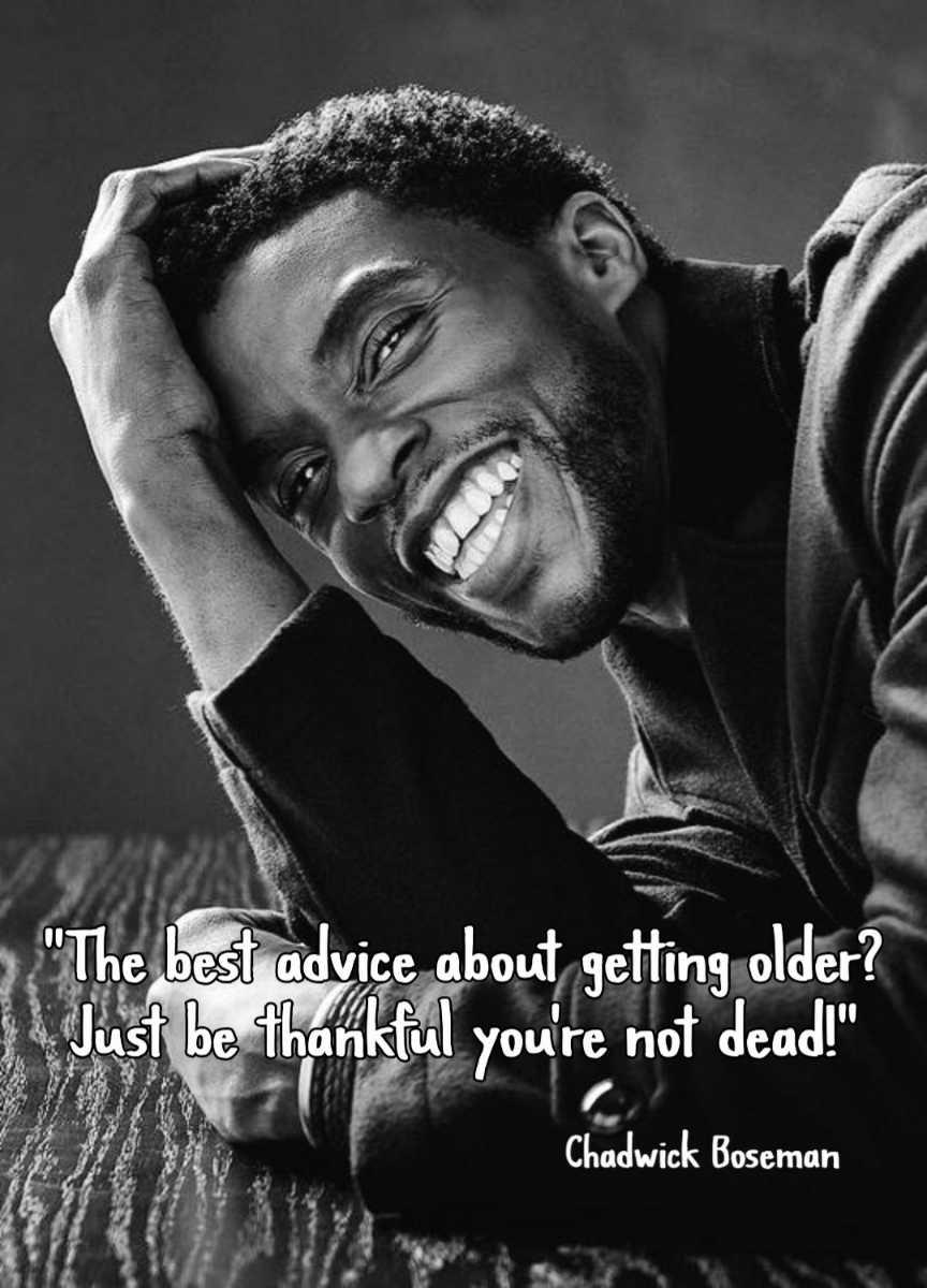 best inspirational quotes of Chadwick Boseman