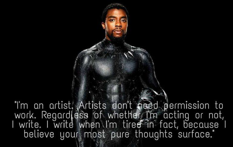 best motivational quotes of Chadwick Boseman