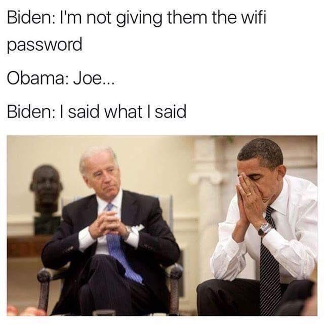 obama and Biden hilarious memes