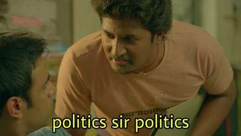 politics sir politics paatal lok meme template