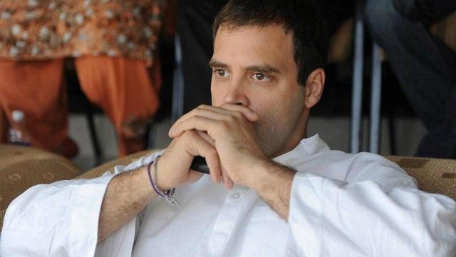 rahul gandhi thinking