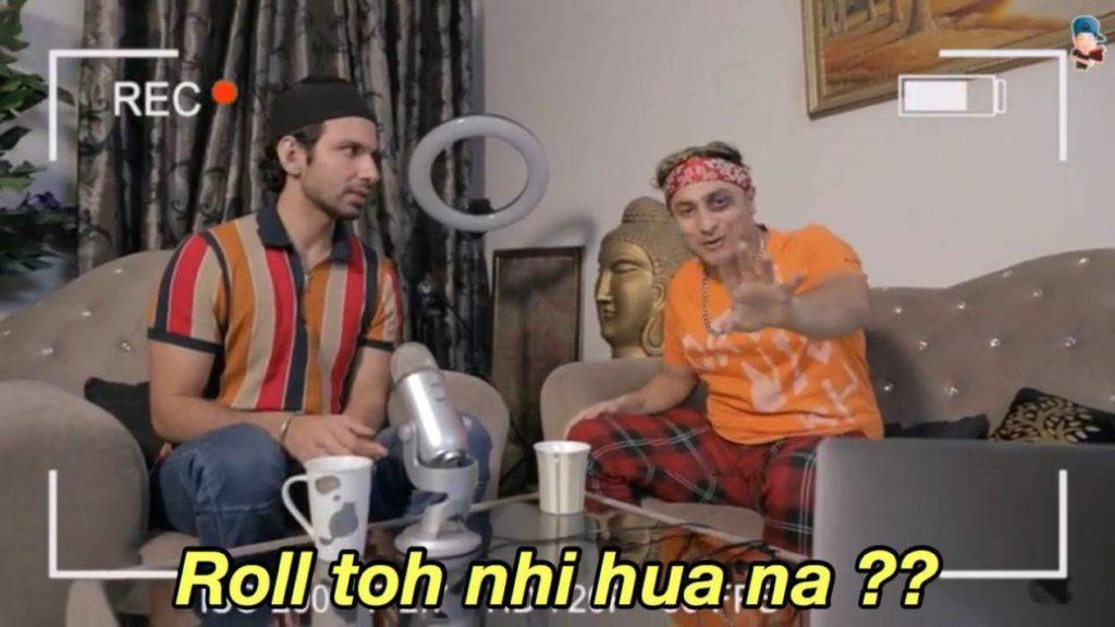 roll toh nahi hua na harsh beniwal meme