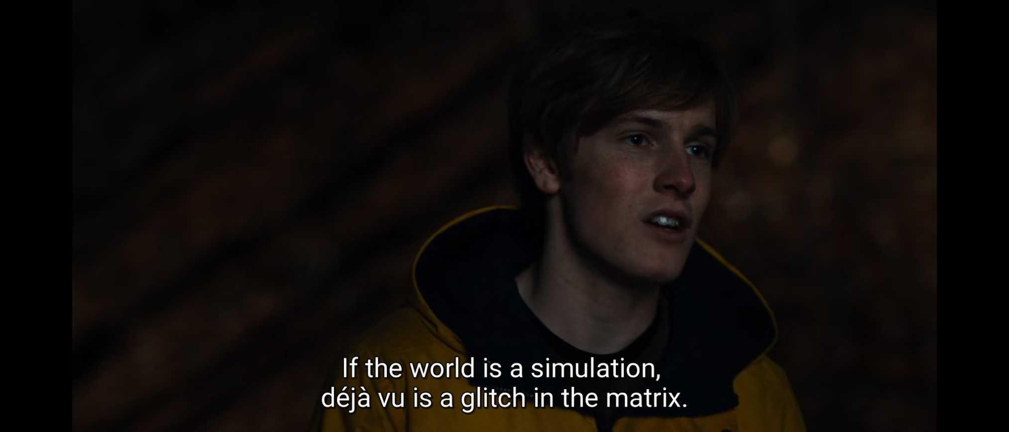 word is simulation dark meme templates