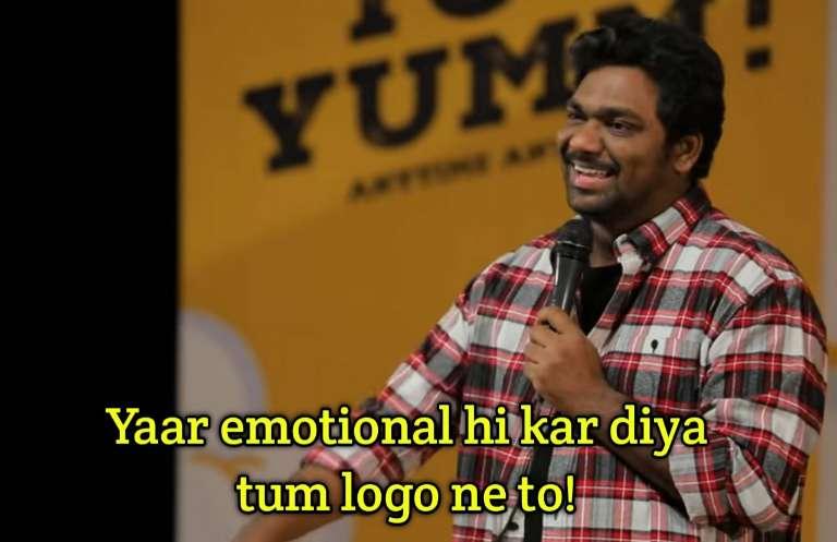yar emotional kar diya zakhir Khan standup meme