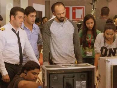 Rohit Shetty looking at tv meme