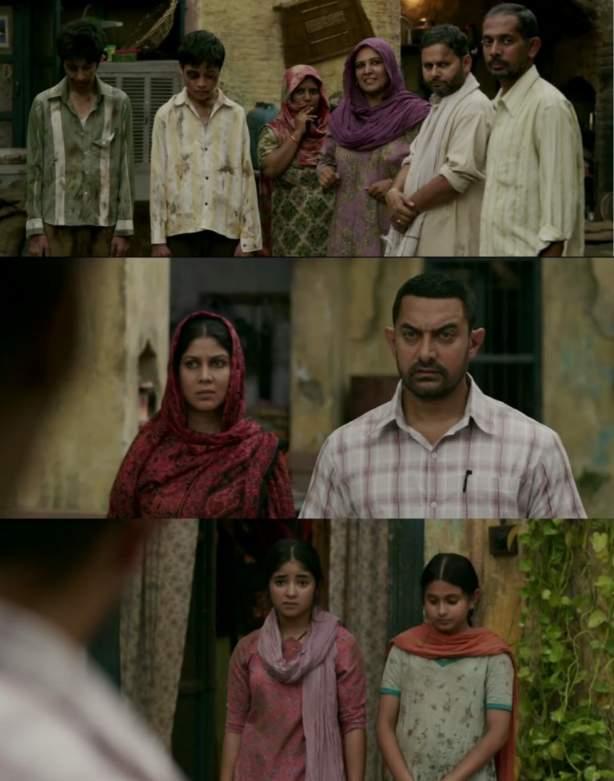 dangal geeta Babita fight scene meme templates