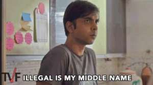 illegal is my middle name paatal lok