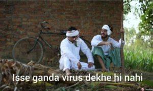 isse ganda virus dekhe hi nahi round 2 hell tiktok meme template