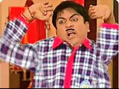 jetha lal waking up reaction