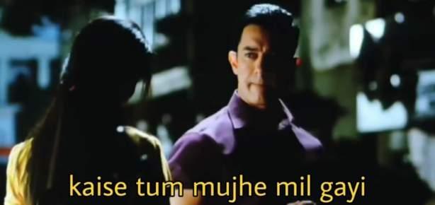 kaise tum mujhe mil gayi aamir khan Ghajini