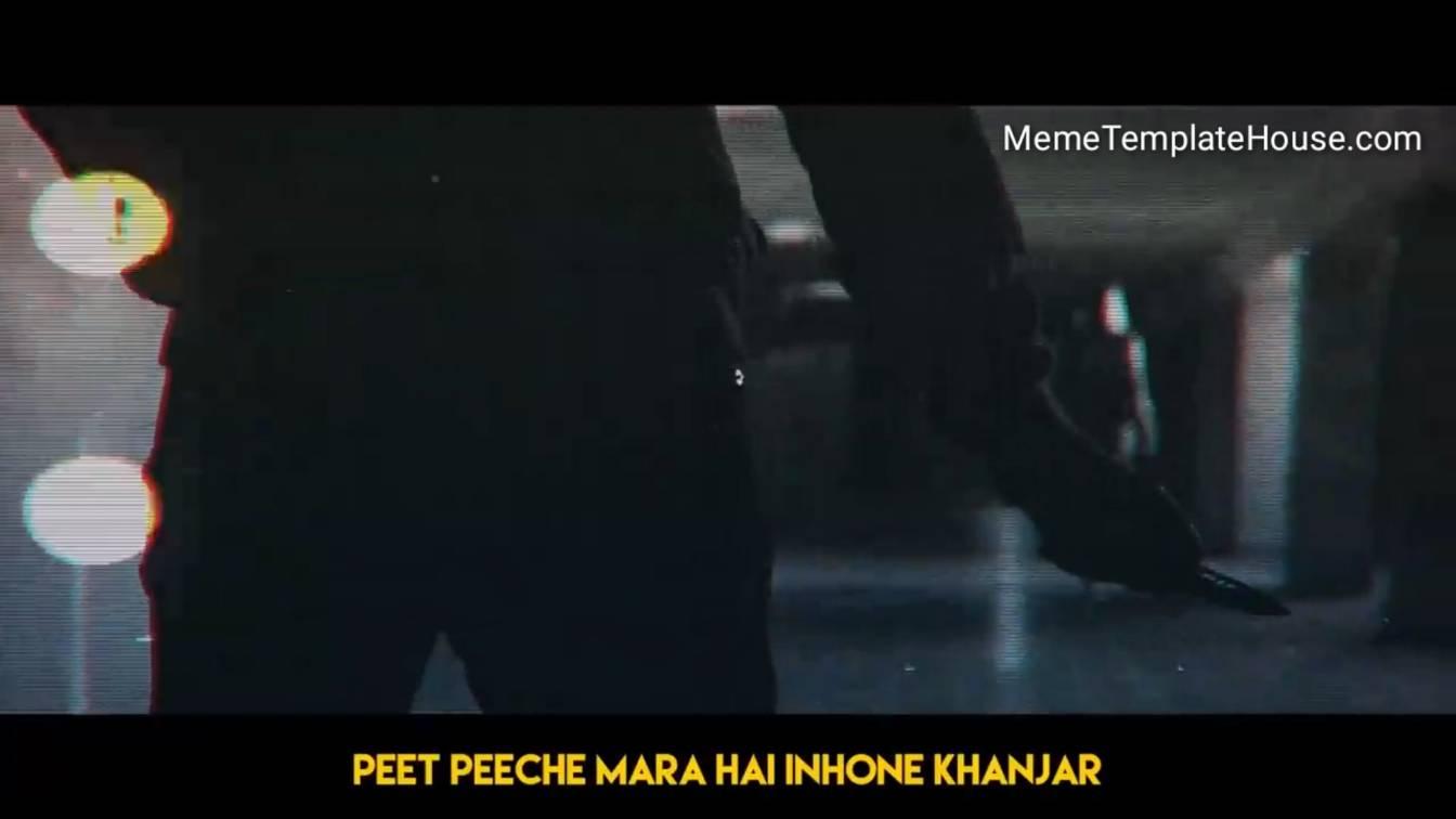 peeth peeche mara hai inhone khanjar carryminati yalgaar