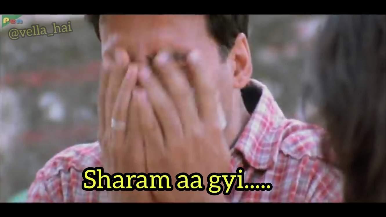 sharam aa gayi akshay Kumar hera pheri meme