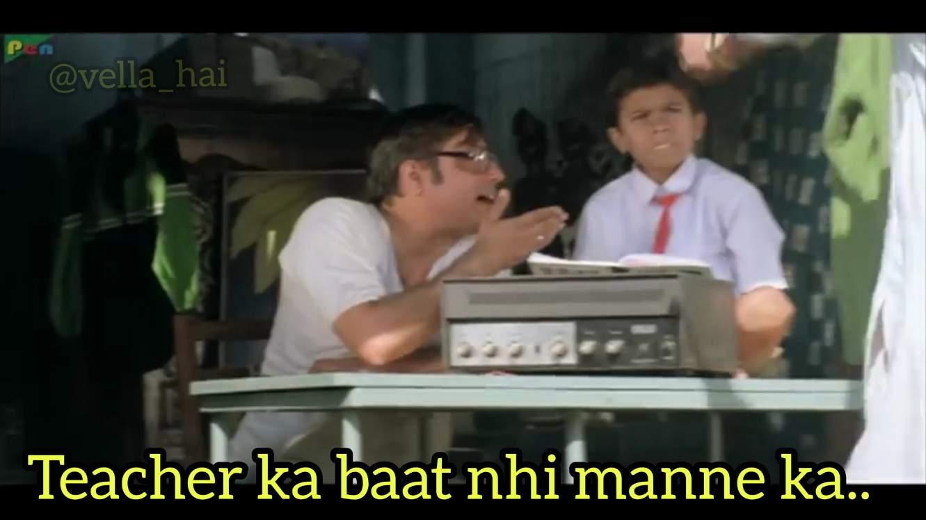 teacher ka bat nahi manne ka akshay kumar meme