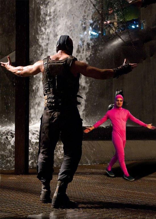 Bane vs Pink Guy