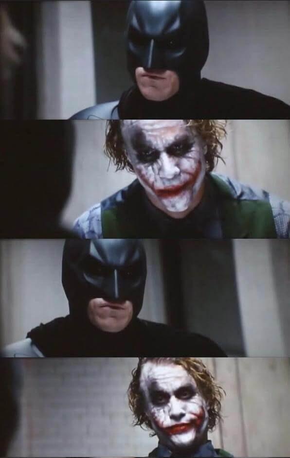 Batman and Joker conversation