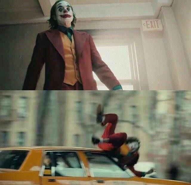 Joker Hit By Car