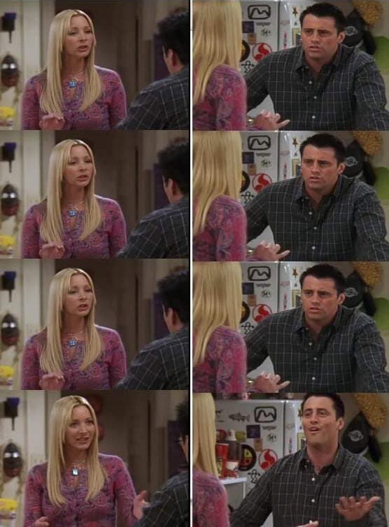 Phoebe Teaching Joey