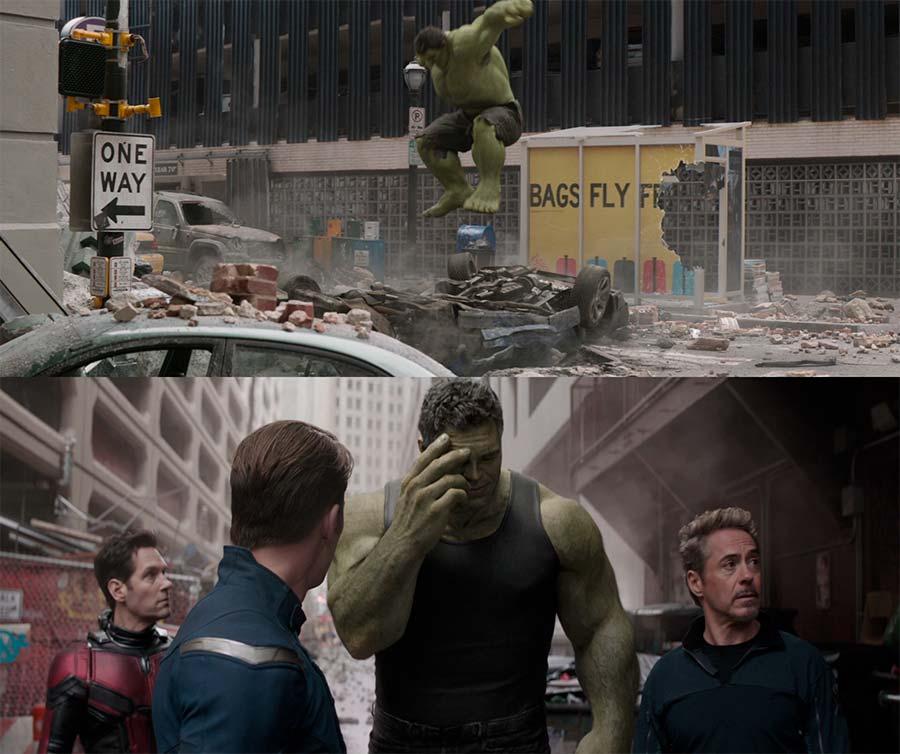 Regretful Hulk