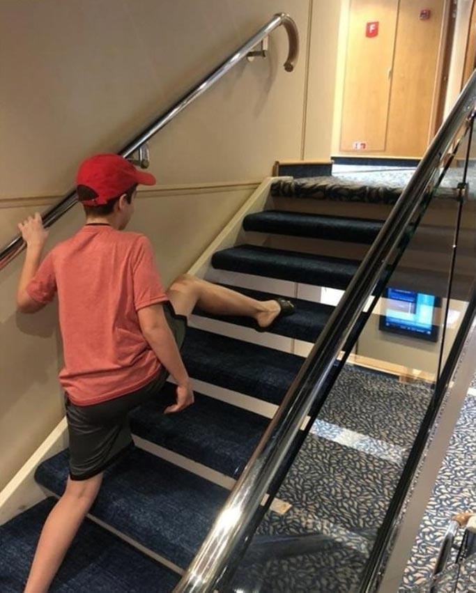 Skipping Steps