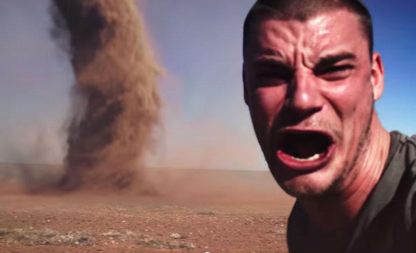 Tornado Selfie