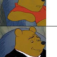 Tuxedo Pooh s
