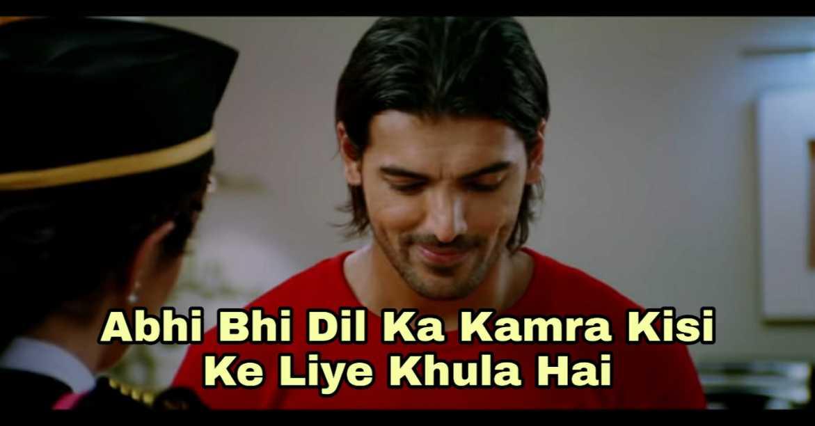 abhi bhi dil ka kamra kisi ke liye khula hai