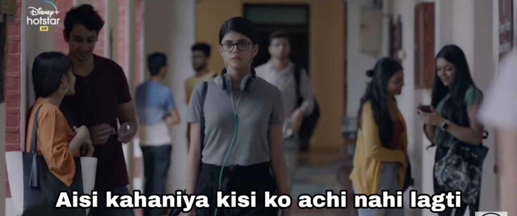 aisi kahaniya kisiko nahi achi lagti dil bechara sushant singh rajput meme template