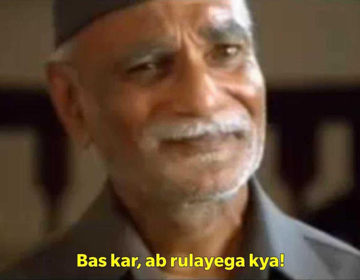 bas kar ab rulayega kya munna Bhai mbbs meme template