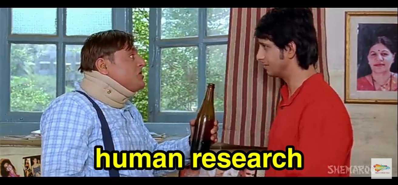 human research golmaal meme template