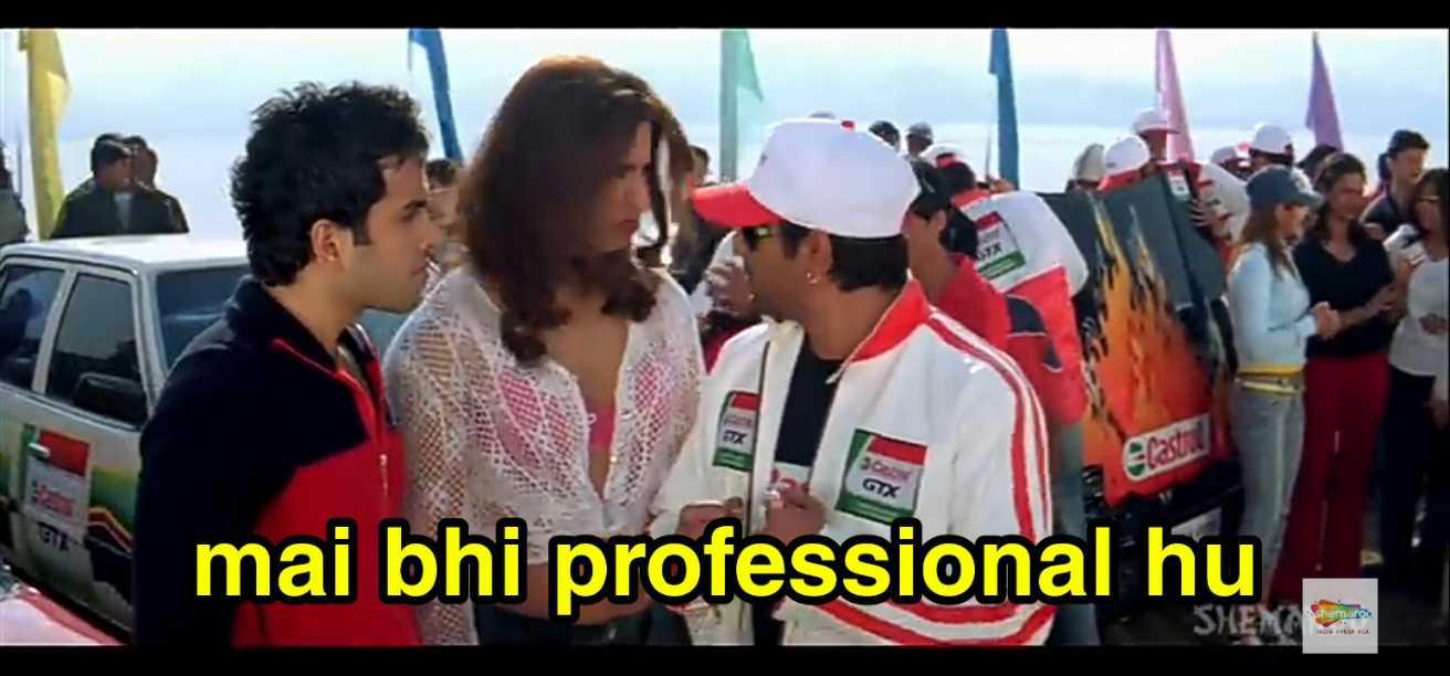 mein bhi professional hun