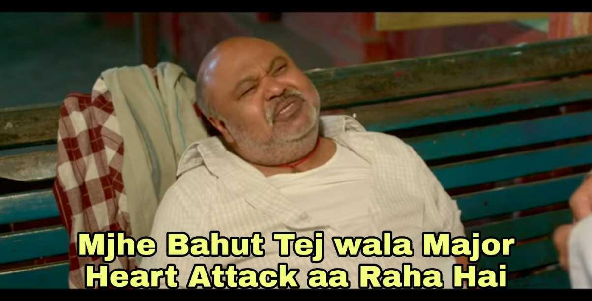 Mujhe Major Heart Attack Aa Raha Hai Meme Templates House Cardiac arrest vs heart attack. mujhe major heart attack aa raha hai