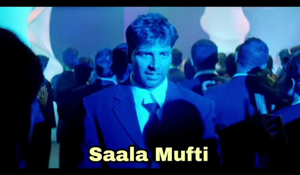 saala mufti garam masala akshay kumar meme template
