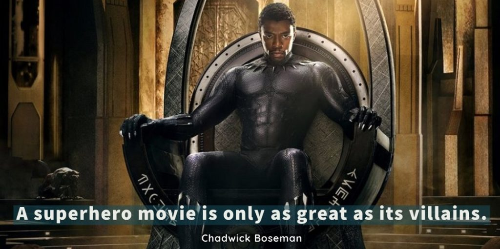 black panther chadwick boseman best inspirational quotes