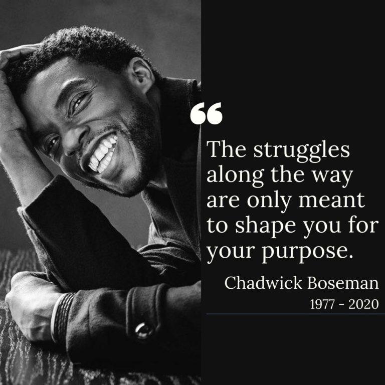 chadwick boseman motivational quotes