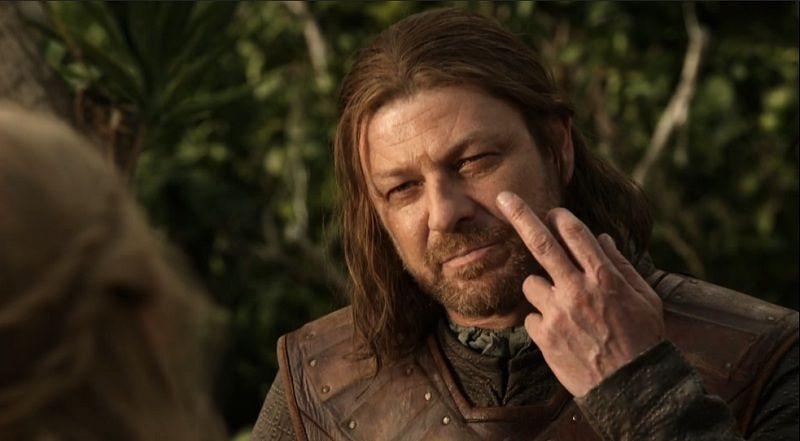 ned stark finger meme template blank game of thrones