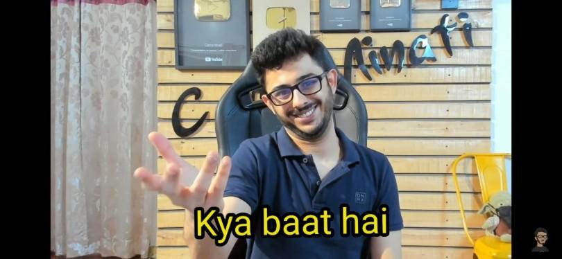 kya baat hai carryminati Indian idol meme template