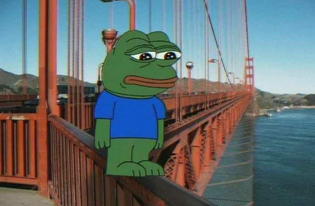thak gya hun bro Pepe the frog meme template