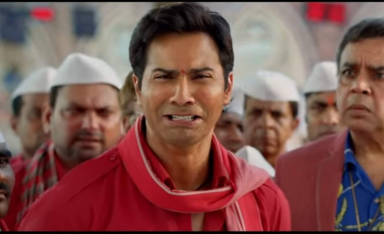 Varun Dhawan crying coolie meme template