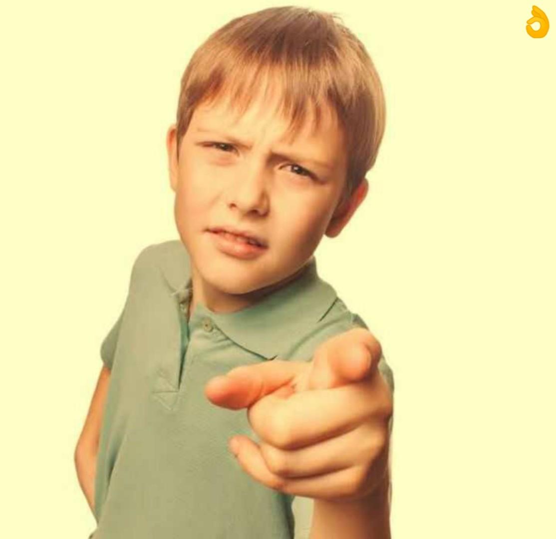 bro tu wahi hai na children pointing meme template