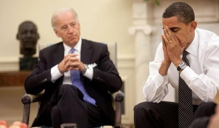 obama facepalm and Joe Biden meme template