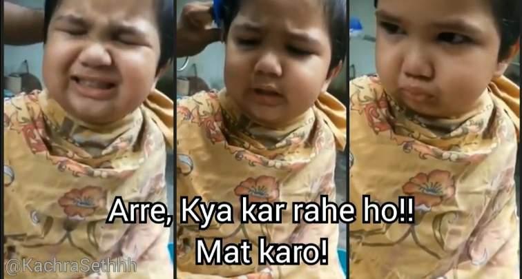 are kya kar rahe ho mat karo viral kid meme template