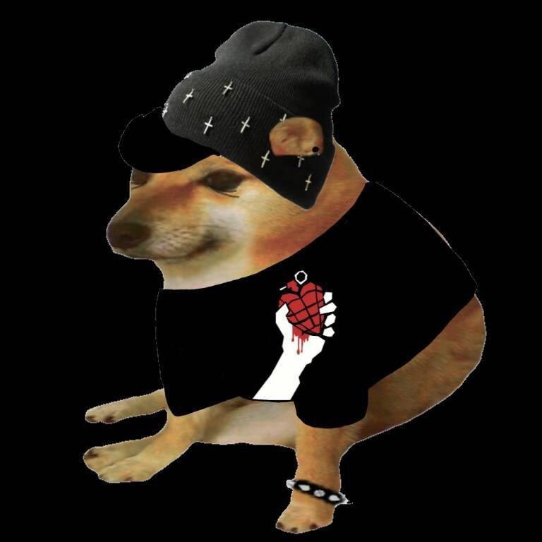 cheems as road side Romeo meme template