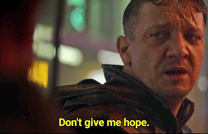 dont give me hope Avengers meme template