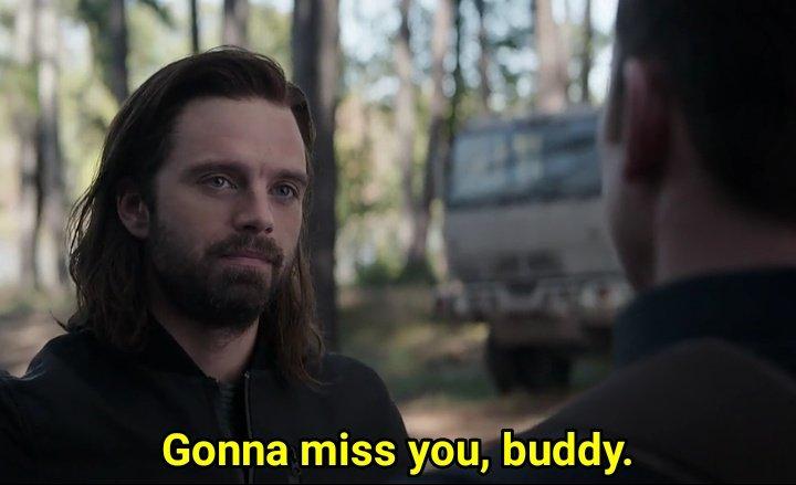 gonna miss you buddy Bucky meme template
