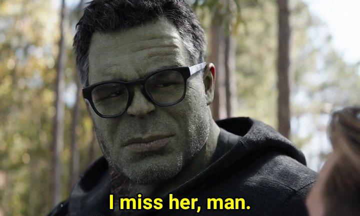i miss her man hulk meme template