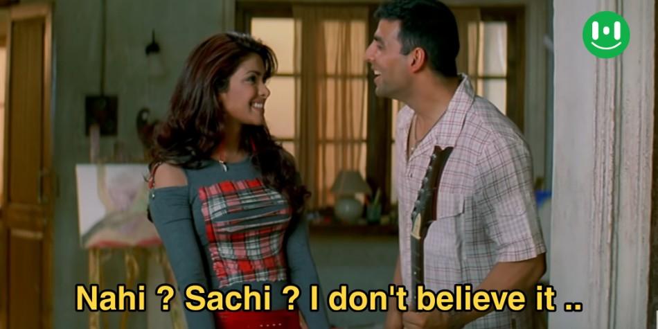 nahi sachi i dont believe it meme template