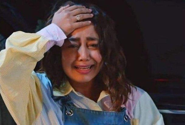 neha Kakkar crying meme template